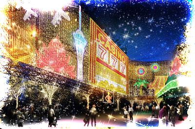 雪遊び、関東遊園地、マジカルイルミネーションの画像