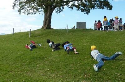 吾妻山公園頂上遊び