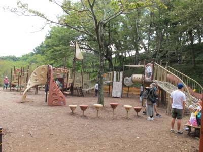 神奈川県 二宮の吾妻山公園遊具