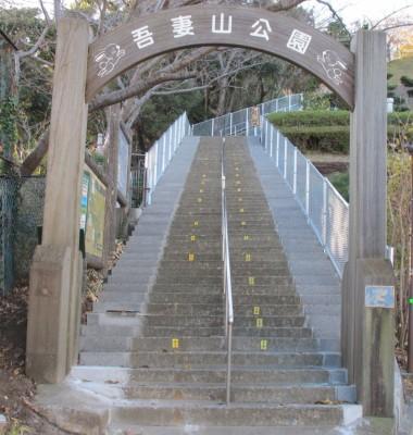 神奈川県の吾妻山公園に子連れでおでかけ