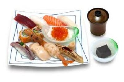 六本木子連れランチ寿司の画像