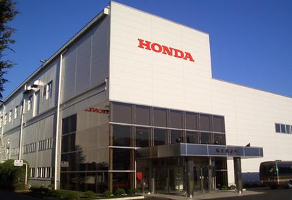 自動車工場見学ホンダの画像