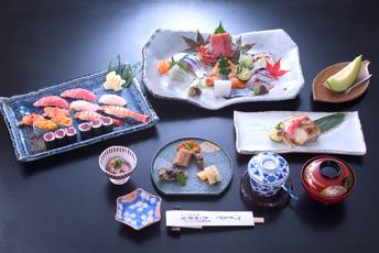 東京・日本橋の子連れでランチに人気の矢の根寿司本店の料理イメージ画像
