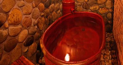 下呂温泉にある冨岳の貸切温泉いぶき
