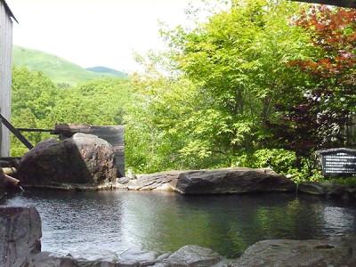 熊本県黒川温泉の樹やしきの家族風呂