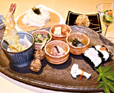 六本木子連れランチ和食の画像