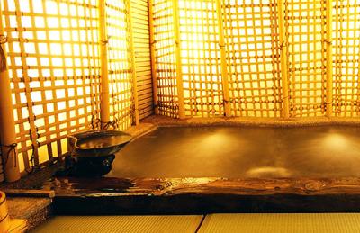 城崎温泉の畳敷き風呂に子連れでおでかけ