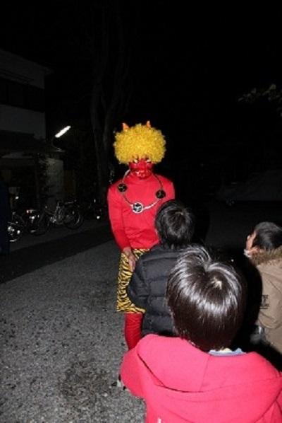 節分豆まき子どもが喜ぶイベント赤鬼の画像