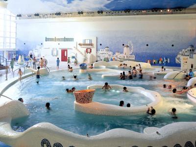 箱根湯本の温泉・温浴施設のユネッサン