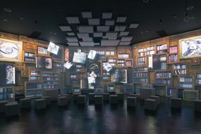 東京ドームシティ、宇宙ミュージアム、テンキュー、はじまりの部屋の画像