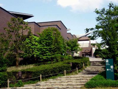 子連れでおでかけしたいミュージアムパーク茨城県自然博物館の外観