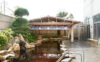 埼玉のかすかべ湯元温泉の日帰りで楽しめる露天風呂の画像