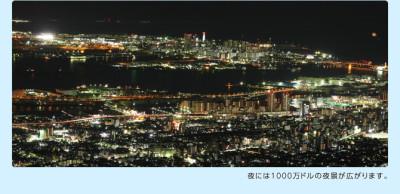 六甲山の観光におすすめな展覧台の画像