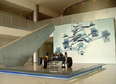 自動車工場見学スバルの画像