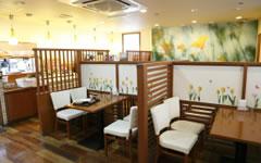 大宮の子連れでランチができる太陽のカフェの店内画像