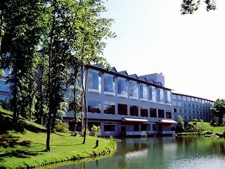 函館の温泉ホテル大沼プリンス外観