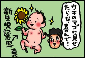 新生児フォトの感想