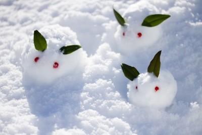 ぐりんぱで雪遊びをするイメージ画像
