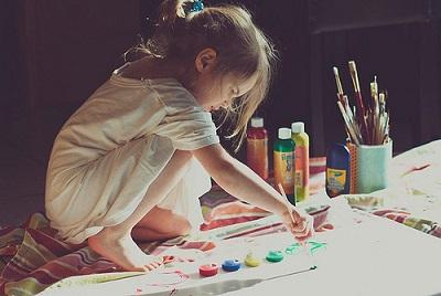 クリエイティブ、子ども、イベント、女の子の画像