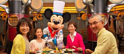 ディズニーアンバサダーホテルのレストランの画像