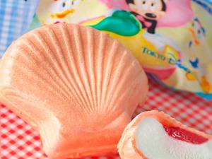 ディズニーシーの限定スイーツのアイスモナカの画像
