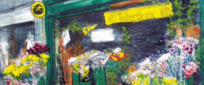 名古屋、おすすめ、おしゃれ、花屋、イラストの画像
