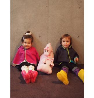 子供服ブランド人気コーディの画像