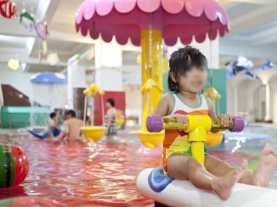 北海道リゾートホテル、大満足、プールの画像