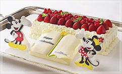 ディズニーホテルで誕生日のお祝い画像