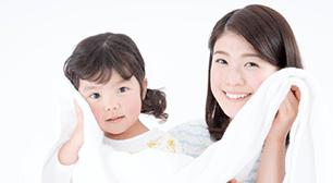 子どもの肌がカサカサ対策のイメージ画像