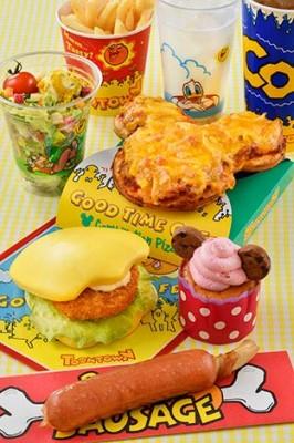 ディズニーランドのおすすめレストラングッドタイムカフェの画像