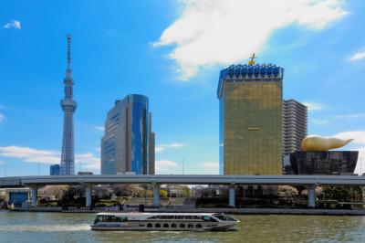 東京で花見を満喫するなら船が一番のイメージ画像