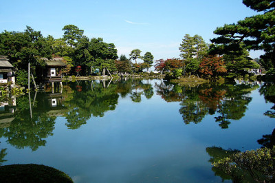 北陸新幹線で金沢といえば兼六園の画像