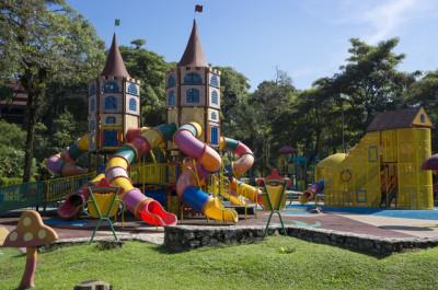 アスレチック公園のイメージ画像