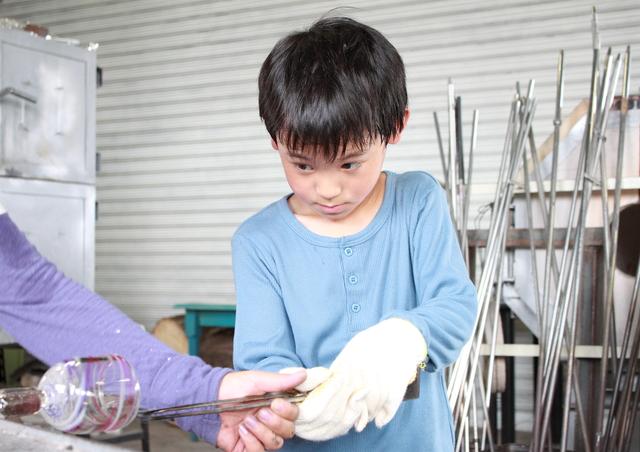 ガラス工房体験のイメージ画像
