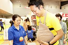 妊婦体験コーナー