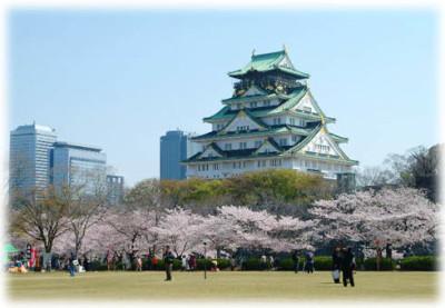 大阪のお花見スポット大阪城公園に行こうのイメージ
