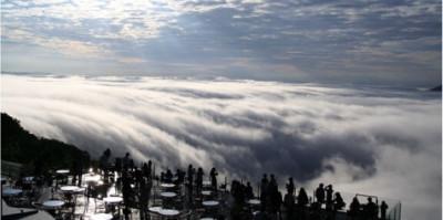 星野リゾート・トマムの雲海テラスの画像