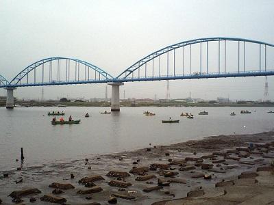 潮干狩り_東京の伊藤遊船の画像
