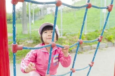 北海道のアスレチックに子連れでおでかけのイメージ画像