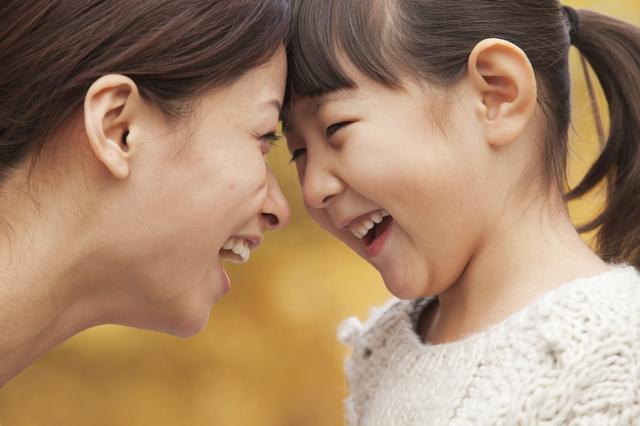 子連れ旅行おすすめ親子笑顔の画像