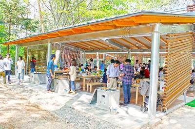 千葉県清水公園バーベキューに子連れでおでかけのイメージ画像