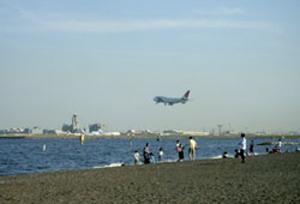 潮干狩り_東京の城南島海浜公園の画像