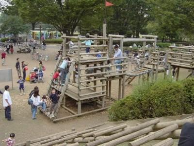 都内、フィールドアスレチック、小金井公園の画像