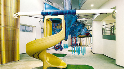 北海道釧路市のアスレチック施設の画像