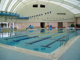 茨城県神栖市海浜温水プールの室内プールの画像