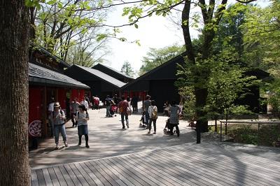 避暑地、軽井沢ハルニレテラスの画像