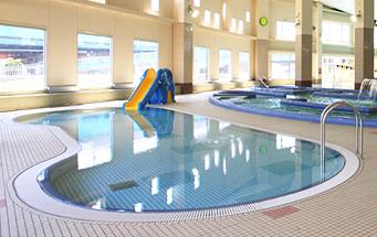 室内プールの千葉健康市川温泉 クリーンスパ市川の画像