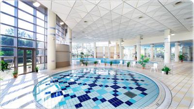 室内プールの千葉サンライズ九十九里の画像