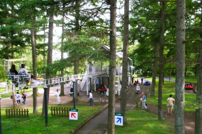避暑地、軽井沢、タリアセンの画像
